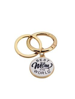 Best Mom World Quick Release Key Ring Coolcos Portable Arm Large Wristlet Bangle Bracelet Keychain