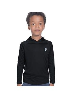 Hoodies for Boys Outdoor Recreation Shirts - Youth Athletic Tops Sun Protection UPF 50+