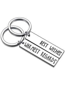 Schitt's Creek TV Show Merchandise Gift Funny Ew David Rose Alexis Quote Key Chain