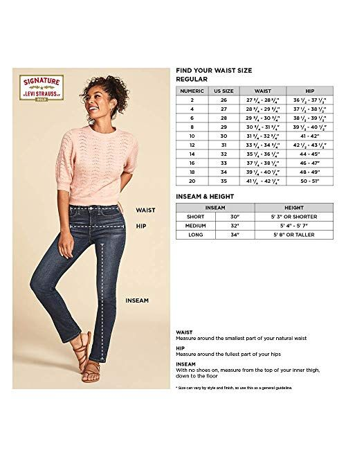 Signature by Levi Strauss & Co. Gold Label Women's Totally Shaping Bootcut Jeans
