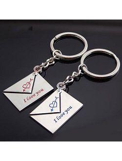 milkcha Keychain Accessories,Creative Couple Keychain Gift Cup Love Key Ring Cute Keychains