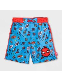Marvel Spider-man Swim Trunks - Blue - Disney Store