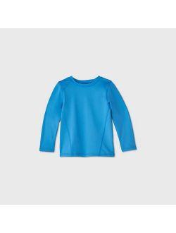 Ys' Long Sleeve Rash Guard - Cat & Jack™ Blue