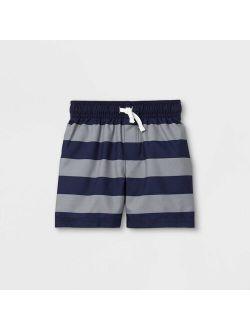 Ys' Striped Swim Trunks - Cat & Jack™