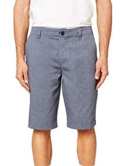Men's Standard Fit Chino Walk Short, 22 Inch Outseam | Long-length Short |