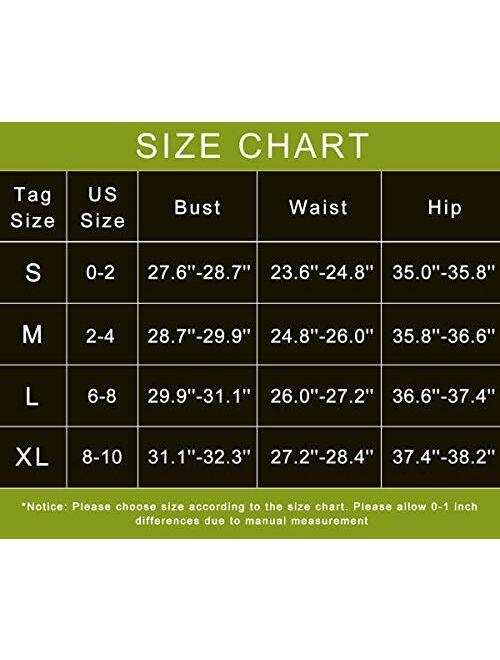 OLCHEE Women's 2 Piece Tracksuit Workout Set - High Waist Leggings and Crop Top