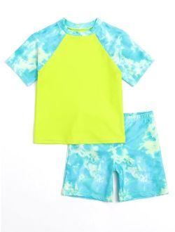 Boys Tie Dye Shorts Swimsuit