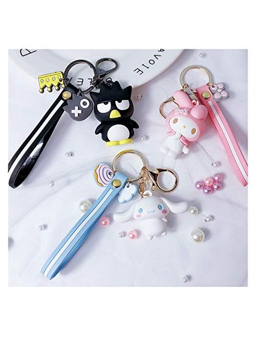 Doll Pendant Necklaces Bag Key Chains Sweater Chain Necklace Cute Doll Keychain