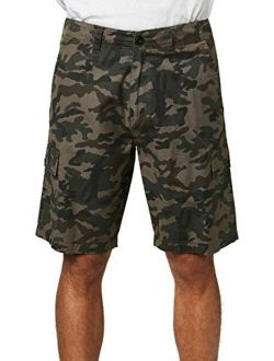 Men's Relaxed Fit Cargo Short, 20 Inch Outseam | Mid-length Short |