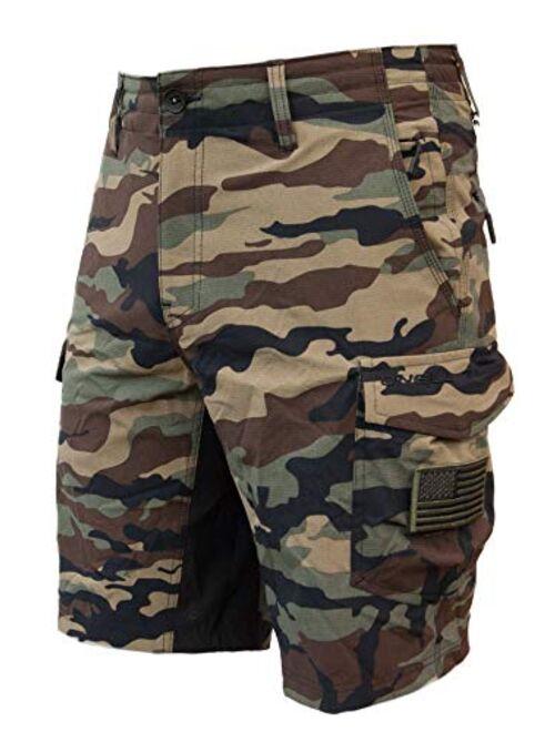 O'NEILL Men's GI Jack Traveler Cargo Pocket Hybrid Stretch Walk Short, 21 Inch Outseam [Extended Sizing - Up to Size 48]
