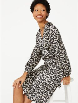 Women's Wrap Dress With Long Sleeves