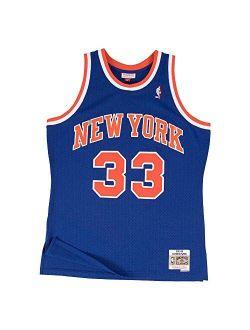 Mitchell & Ness Men's Patrick Ewing New York Knicks NBA Throwback HWC Jersey