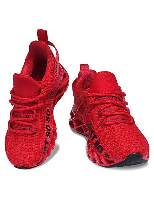 COKAFIL Boys Girls Sneakers Kids Running Sports Athletic Non-Slip Shoes for Little Kids/Big Kids