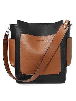 Handbags For Women Designer Tote Bag Large Ladies Shoulder Hobo Bag Crossbody Bucket Purses