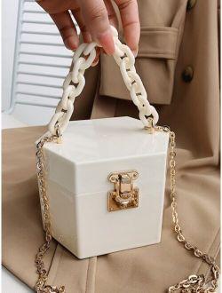 Mini Chain Box Bag