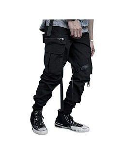 2020 Spring Men's Hiphop Punk Jogger Sport Harem Pants Cargo Pants