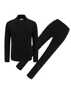 Women Winter Thermal Heated Underwear Set, Temperature Control (no power bank)