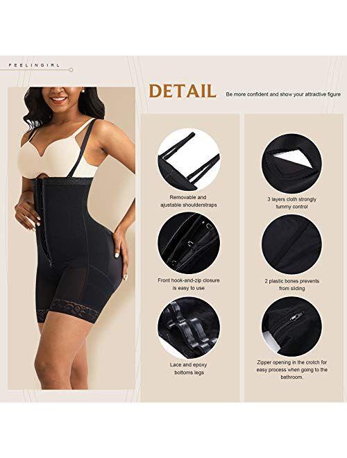 Shapewear for Women Seamless Firm Triple Control Underwear Bodysuits Plus Size Body Shaper