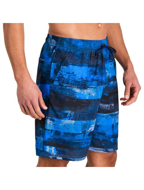Men's Under Armour Striped Swim Shorts