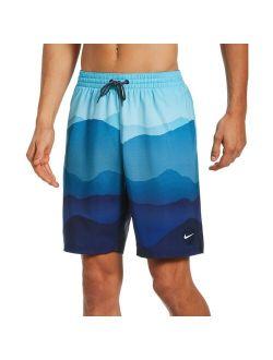 & Tall Nike Swim Landscape Vital 9-inch Volley Shorts