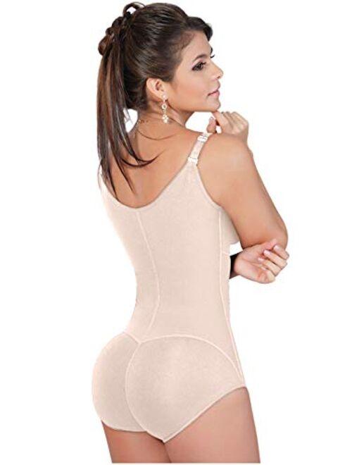 Salome 0420 Fajas Colombianas Reductoras y Moldeadoras Bra Girdle with Zipper for Women