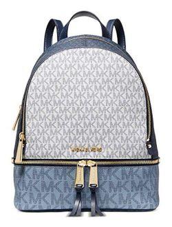 Rhea Zip Medium Backpack Navy Multi One Size