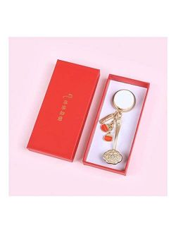 Zanzan Car Keychain,1/5 Pack Metal Key Chains for Women Girl Girlfriend, Bag Charm, Keychain for Car Keys, Gift for Her (Color : 5pack-Full Set)