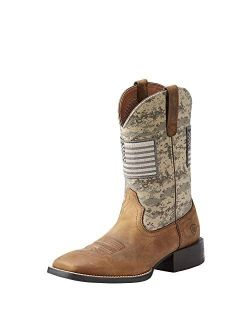 Sport Patriot Western Boot – Men's Leather, Square Toe Western Boots