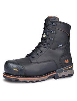 """Pro Men's Boondock 8"""" Composite Toe Puncture Resistant Waterproof Industrial Boot"""