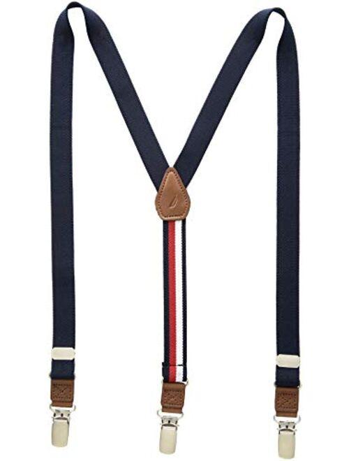 Tommy Hilfiger Boys' Big Adjustable Clip Suspender