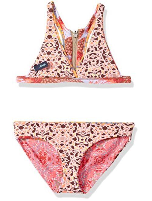 Maaji Girls' Fixed Triangle Bikini Swimsuit Set