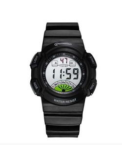 Children's Outdoor Sports Watch Fashion Multifunction Waterproof and Shockproof Suitable for Birthday Parties Girl, Boy, Female Electronic Watch,smallblue1