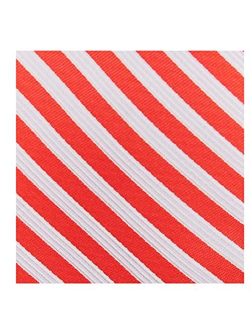 Jacob Alexander Kids' Christmas Candy Cane Red White Stripe Suspenders