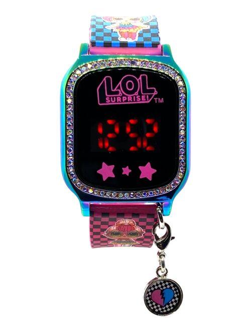 Accutime Kid's LOL Surprise Multicolored Silicone Touchscreen Watch 36x33mm