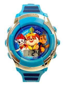 Kid's Digital Paw Patrol Blue Silicone Strap Watch 38mm