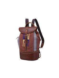 NCCDY Backpack for Women, Fashion Backpack Water-Repellent Leather Bag Ladies Handbag Shoulder Bags Lightweight Daypack, Brown