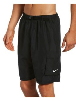 Men's Swim Belted Packable Volley Shorts