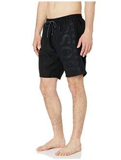 Men's Long Length Quick Dry Swim Trunks