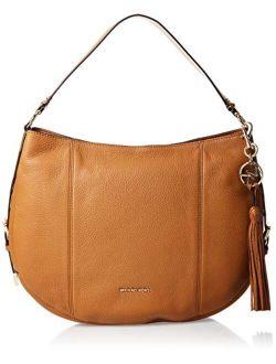 Brooke Large Hobo Leather Shoulder Bag Purse Handbag
