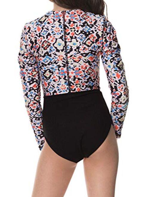 Maaji Printed Long Sleeves Girls Swimwear