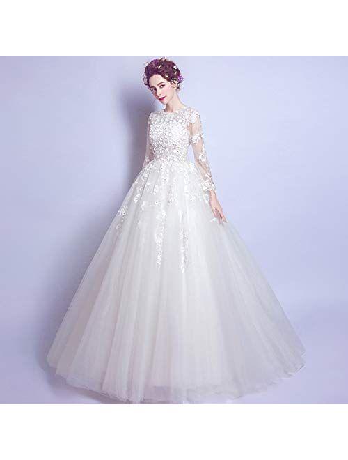 Women Elegant Wedding Dress Wedding Party Cocktail Dress Formal Long Maxi Dress Ball Gown full dress