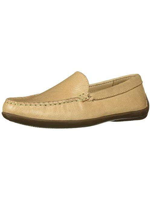 Driver Club USA Unisex-Child Leather Made in Brazil San Diego 2.0 Venetian Driver Loafer
