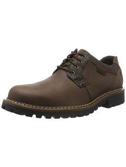 Josef Seibel Men's Men's Chance 08 Waxed Brown Waterproof Casual Shoes