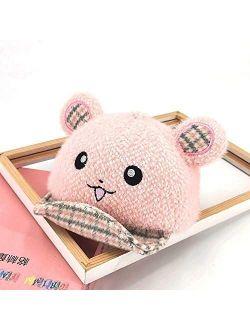 HGDD The New Cartoon Baby Children Dongkuan Cap (Color : Pink)