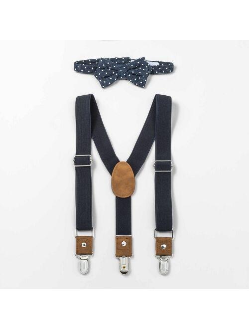 Toddler Boys' Suspender Bowtie Set - Cat & Jack™
