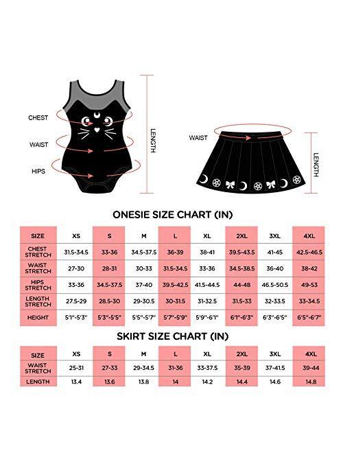 Littleforbig Cotton Romper Onesie Pajamas Bodysuit - Luna Onesie Skirt Set