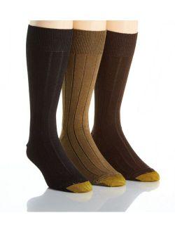 Men's Hampton Reinforced Toe Socks, 3 Pack