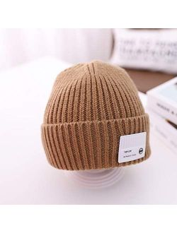 HGDD Children's Spring and Autumn Candy-Colored Knit hat Child Baby Boys and Girls Baby Sweater Autumn and Winter Tide (Color : G)