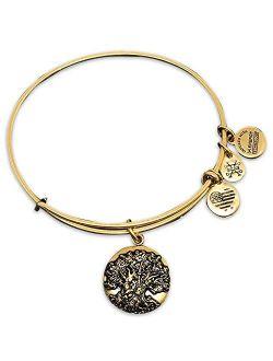 Alex and Ani Animal Kingdom Tree of Life Bangle Bracelet - Jewelry Gift (Gold)