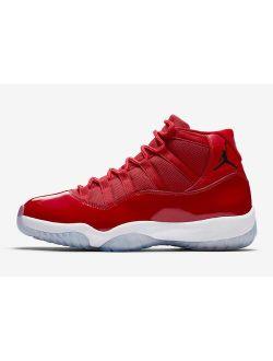 Ordan 11 Xi Retro Win Like '96 Gym Red Black White 378037-62 Basketball Shoes
